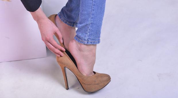 外反母趾・指上げ足(浮き指)