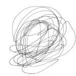 感じるままに線を描く「マインドペインティング」