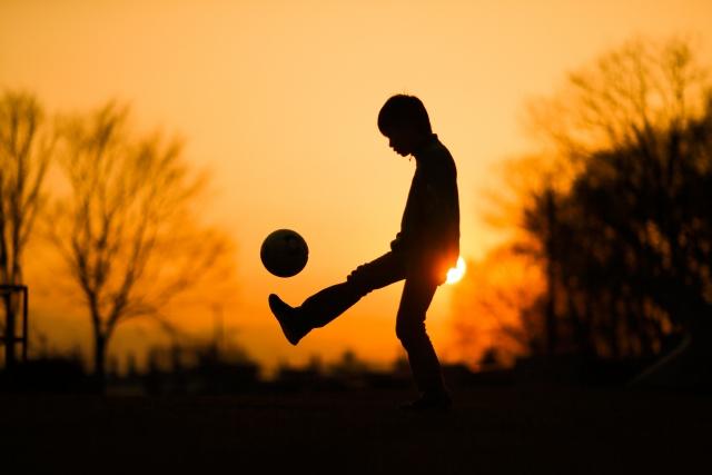 サッカーの足首痛の整体症例