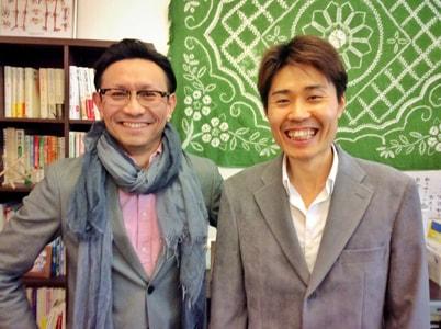 上川名先生ツーショット写真